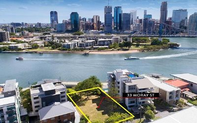 "Record Brisbane Block of land sells for ""Sydney Prices"""